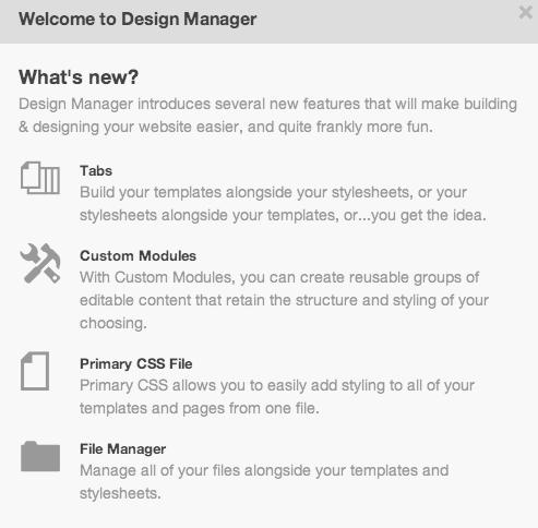 hubspot-update-design-manager
