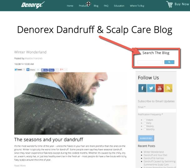 Denorex_custom_search