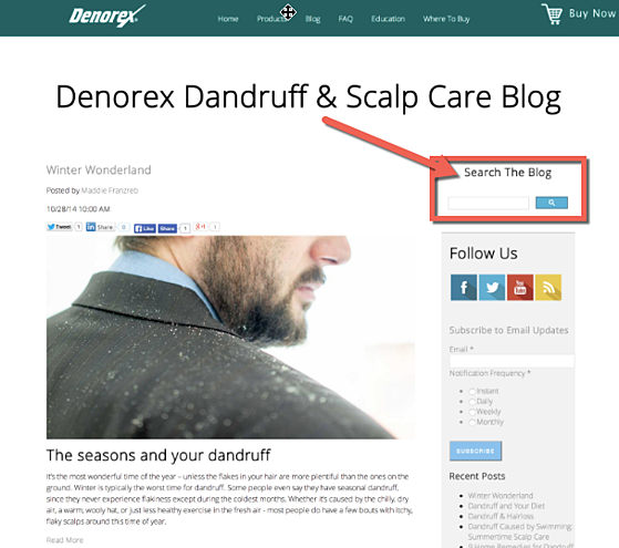 Denorex_custom_search