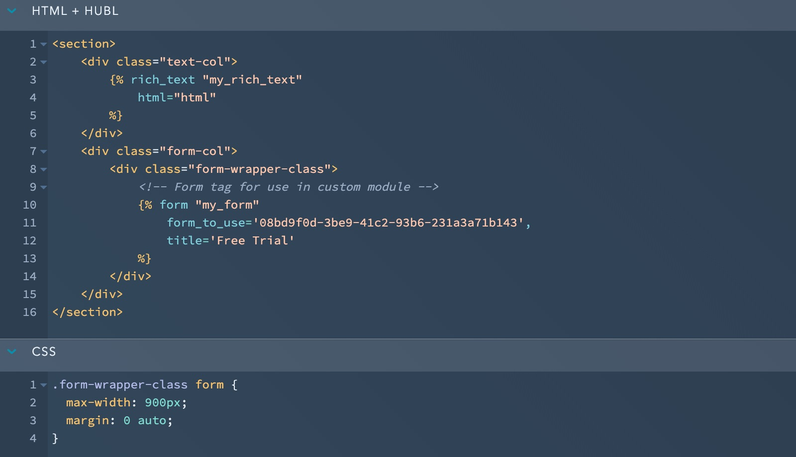 Custom Module with CSS