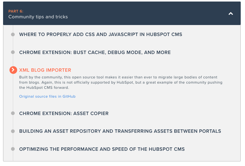 HubSpot CMS documentation and developer tools