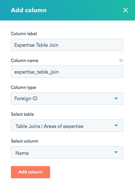 How to join multiple HubDB tables