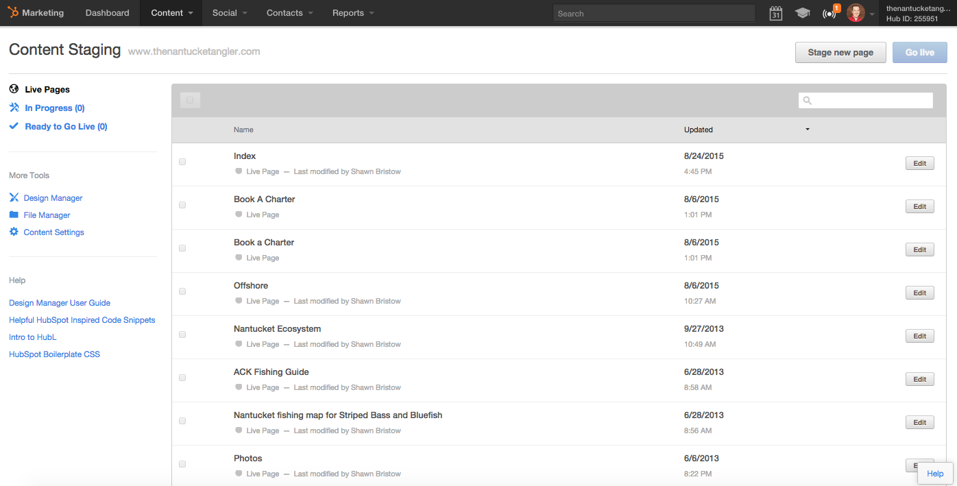 Content Staging_Design Tools