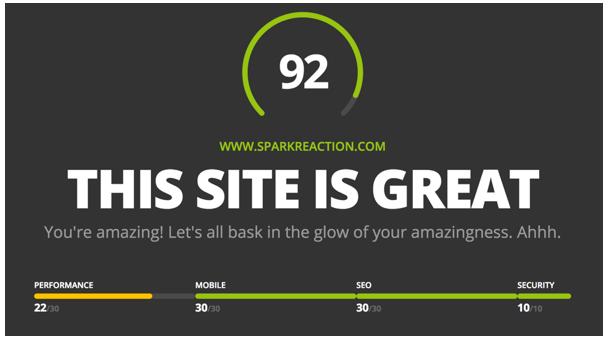 Website-Grader-SparkReaction.png