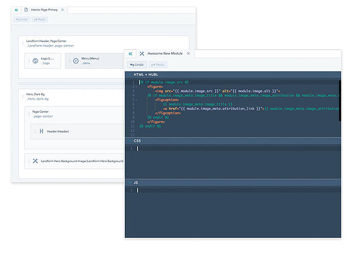 HubSpot CMS Design Manager and IDE