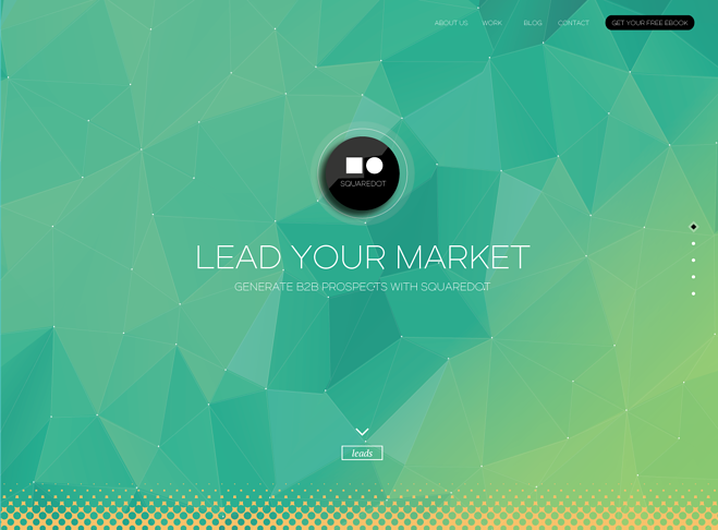 Squaredot Desktop Website
