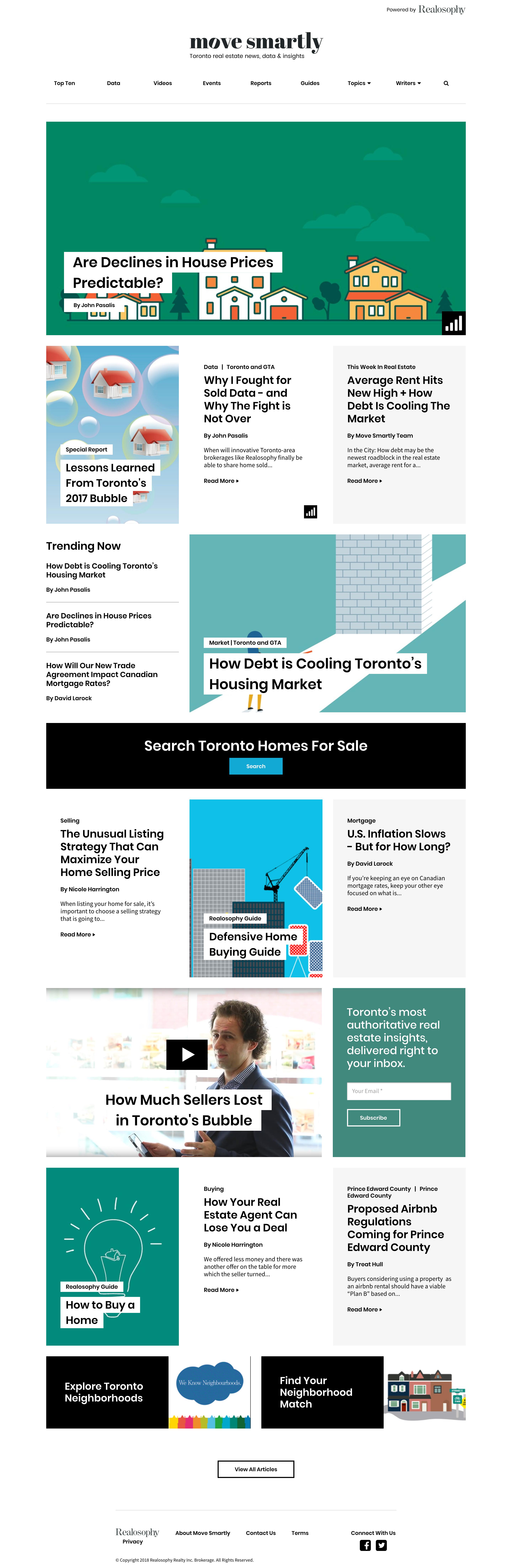 Move Smartly Homepage