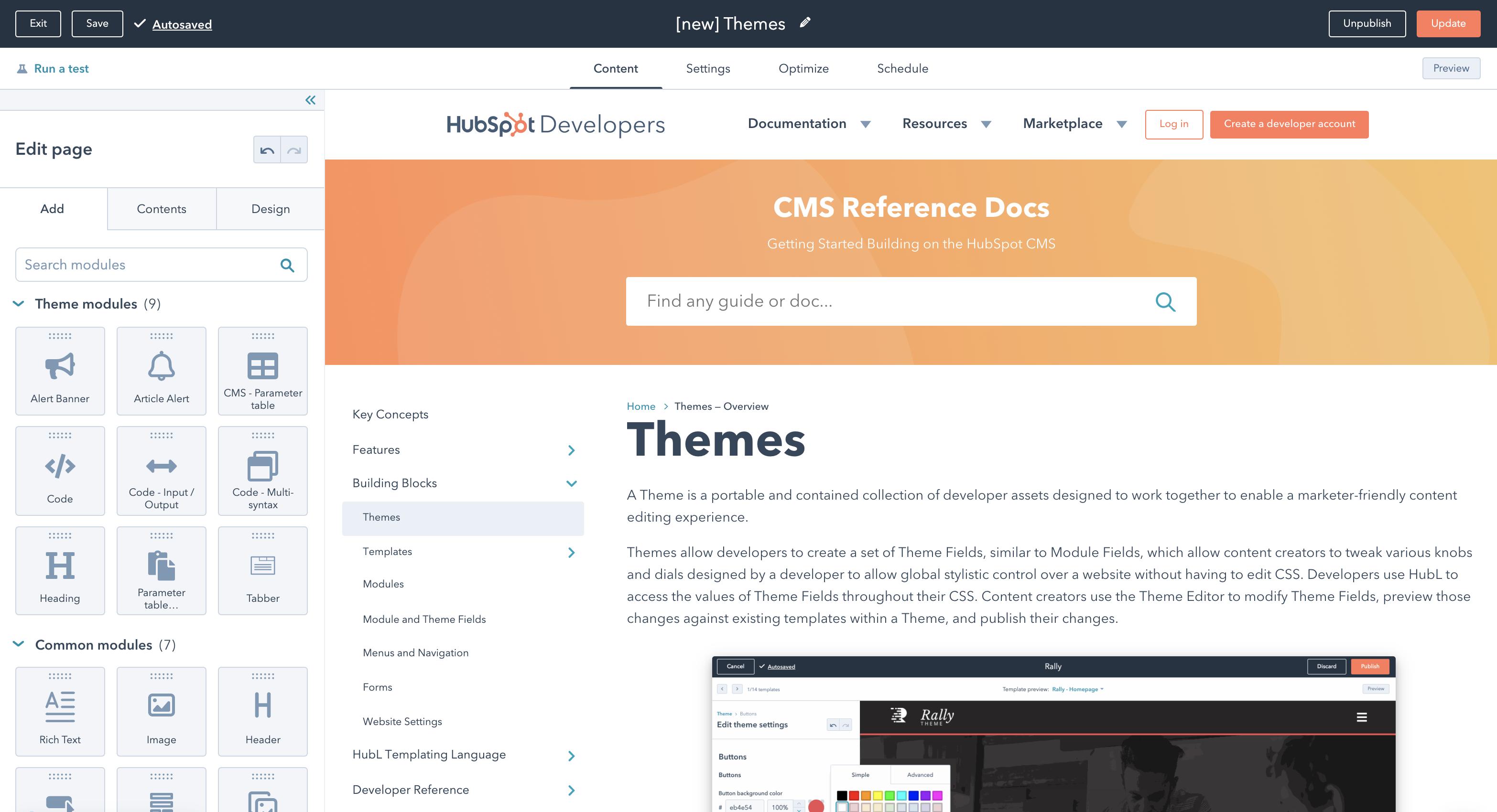 Theme modules inside of a theme