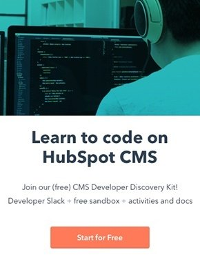 Learn to code on HubSpot CMS